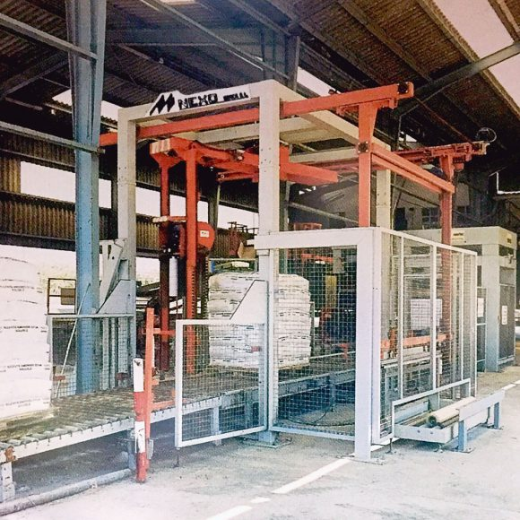 Automatic baling facilities